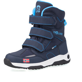 TROLLKIDS Lofoten Winter Boots Kids, navy/medium blue